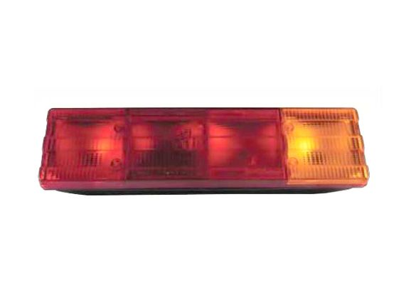 Стоп за товарен автомобил - 0195LSB / 4 секции /без кабел /жълт+червен