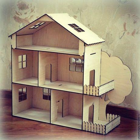Кукольный домик, парковка, Юрта