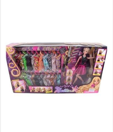 Детски детска играчки играчка Комплект кукла Барби с над 20 рокли
