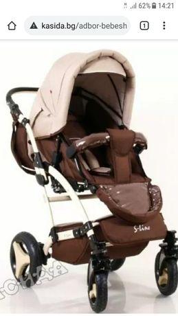 Бебешка количка Adbor S-line 3 в 1