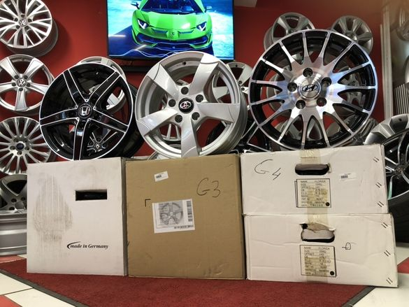 15ц 5х114.3 за Honda CRV/Kia/Mazda/Toyota/Hyundai/Suzuki SX4/Fiat Нови