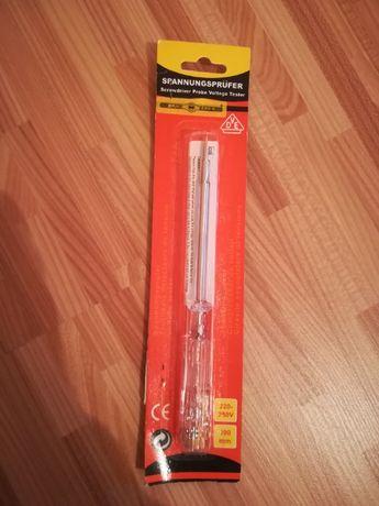 Creion de fază - Surubelniţă din oţel de scule, călit (3,5 x 100 mm)