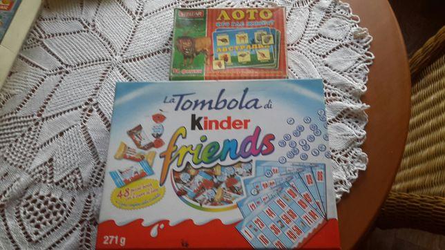Детское лото и Киндер лото настольные игры