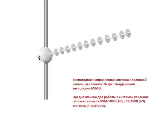 Антенна 4G,усилитель сигнала для роутеров,модема 16 дБ, KYY16-1800