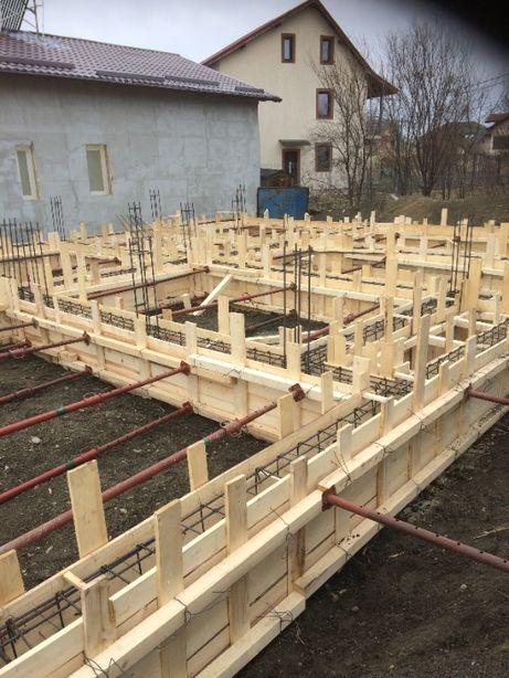 Executăm lucrări in construcții