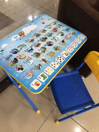 Столик со стулом ученический