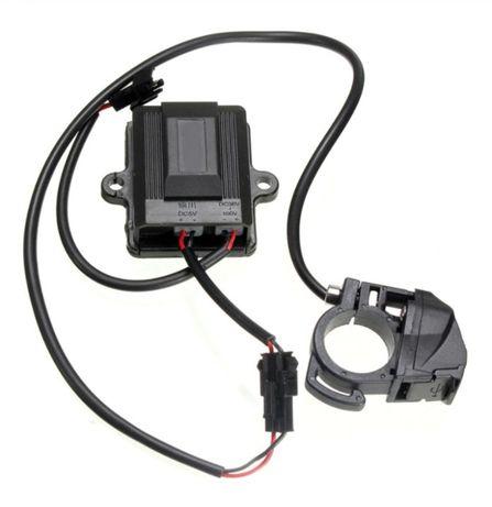 Продавам зарядно с USB за ел. велосипед, кола или тротинетка 36v