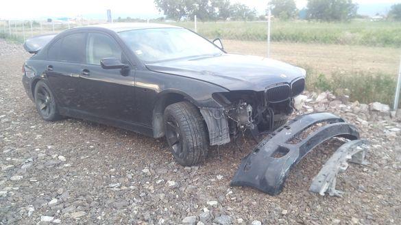 """БМВ 750И Газ Е65 2005 фейс ЛЯВА ДИРЕКЦИЯ 18"""" BMW 750i E65 НА ЧАСТИ"""