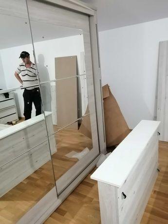 montez/demontez mobila/decupari blat/asamblare mobila dormitor/living