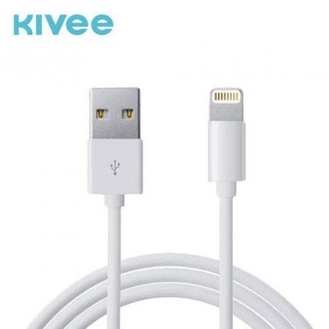 Cablu date si incarcare Lightning (iPhone) Kivee KV-CT001, 1 metru, al