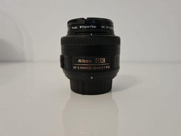 Obiectiv Nikkor 35mm F1.8 ptr Nikon APS-C
