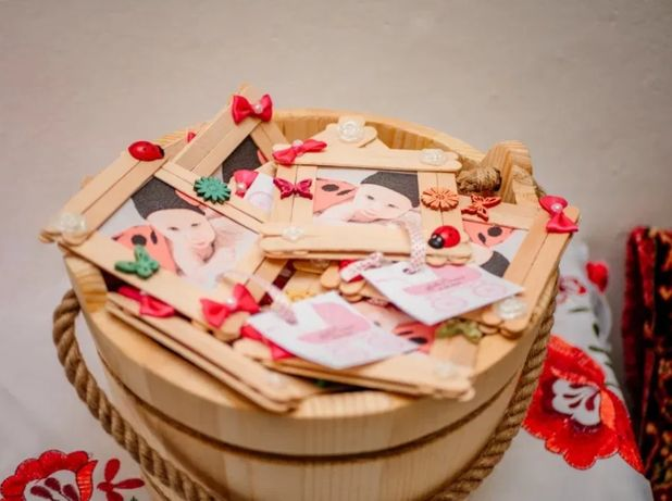 Vand Marturii nunta/botez handmade