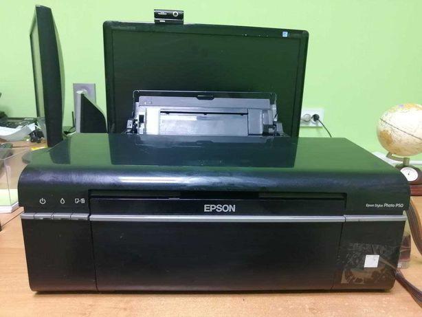 Epson p50 + СНПЧ
