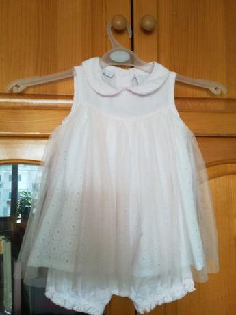 Елегантна детска рокля-боди