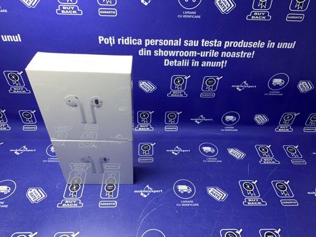 Casti Apple AirPods 2 NOI Factura & Garantie! Buy-Back!