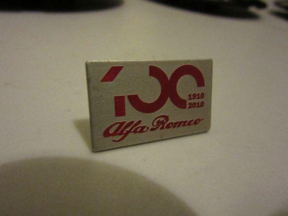 ПРОМО! Значка Алфа Ромео 100 години юбилейна