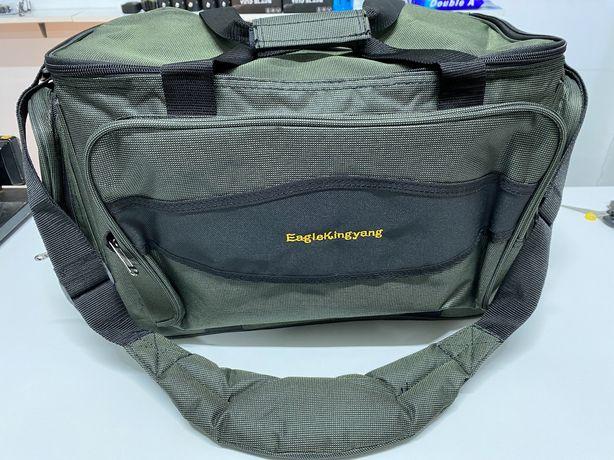 Geanta  bagajier pentru accesori pescuit material gros impermeabil