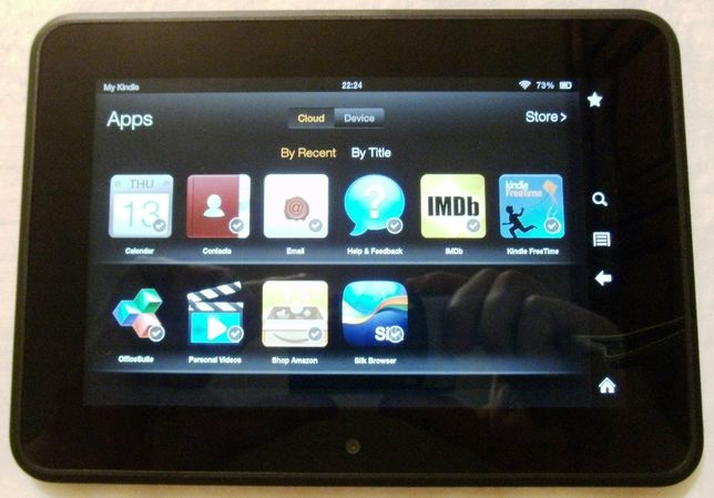 Electronice - Tableta Amazon Kindle Fire HD (7 inch, 16 GB)