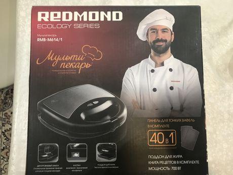 Продам вафельницу мультипекарь Redmond