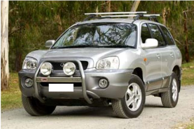 Kit Inaltare Suspensie Hyundai Santa Fe +45mm SM (2000-2005)