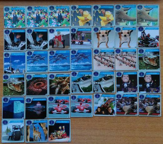Карти Чипита Рекордите на Гинес, Cheetos албум със стикери Покемон