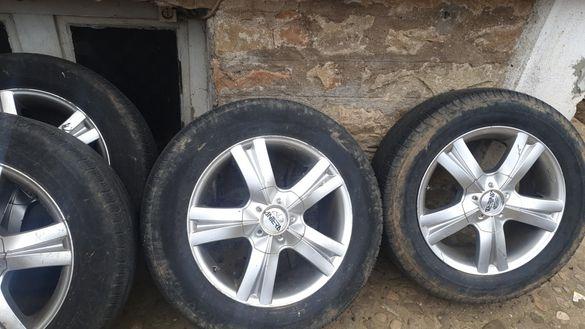 Джанти 18 цола с гуми за джип
