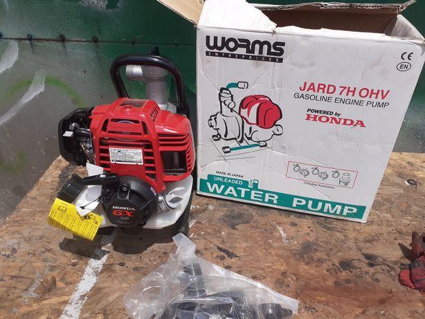Pompa apa pe benzina motor honda worms  jard 7h ohv