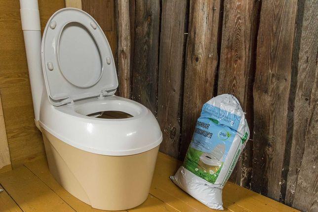 Piteco 506 туалет биотуалет торфяной туалет ведро мобильный без запаха