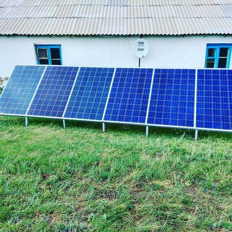 Солнечный электро станции для крестьянской хозяйства.Солнечный батареи