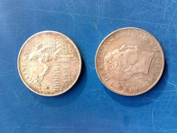 2 monede argint 1946 regele Mihai 100.000 lei-schimb sau cash