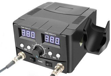 Satie de lipit cu aer cald,termocompensata,cu afisaj digital-YCD-8582D