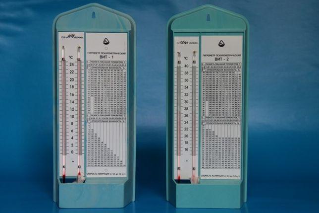 Гигрометр психометрический ВИТ для аптек, складов, магазинов, лицензии