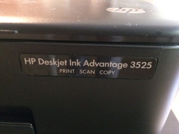 Скенер Hp Deskjet ink Advantage 3525