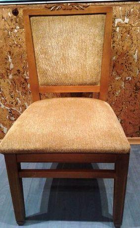Стол от масивен бук с дърворезба+ПРОМОЦИЯ