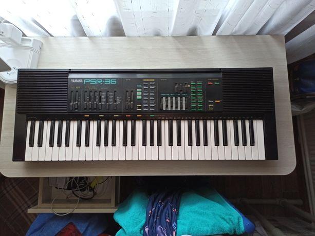 СРОЧНО Синтезатор Yamaha PSR-36 (1988)