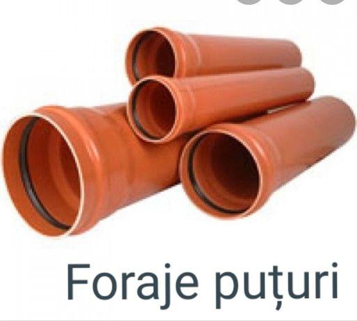 Foraje puțuri de apă