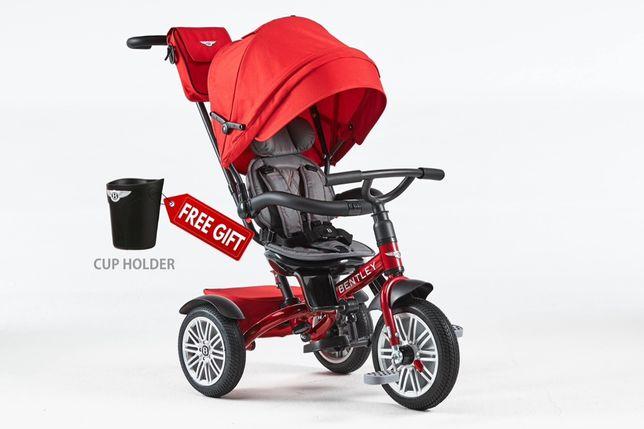 Carucior copii 6 in 1 BENTLEY. Trotineta, tricicleta, bicicleta copii