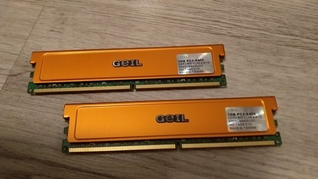 Memorie RAM DDR2 GEIL dual channel 2GB pc2-6400