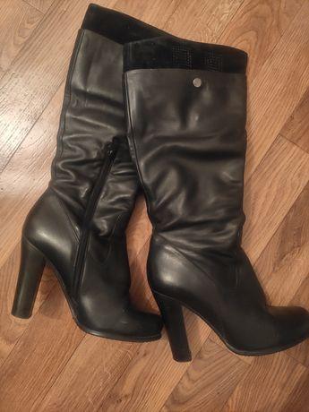 Осенняя кожаная обувь фирмы ASKO, 37 размер