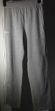 Pantaloni Adidas Womans, culoare gri (3 Stripes), marimea M (Fit M-L)