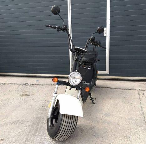 Нов модел Градски електрически скутер city coco Харли 1500 W 60V/13Ah