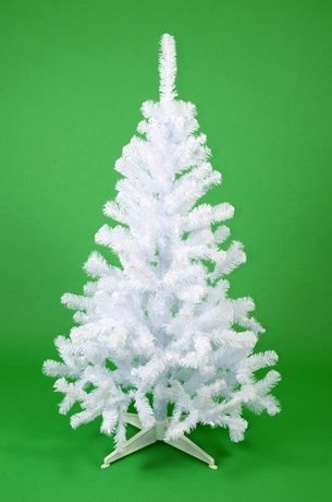 Brad artificial alb de 210 cm
