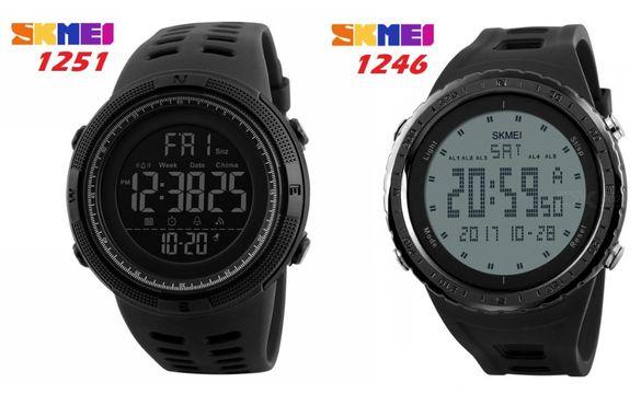 Спортен мъжки водоустойчив часовник дигитален електронен LED стилен