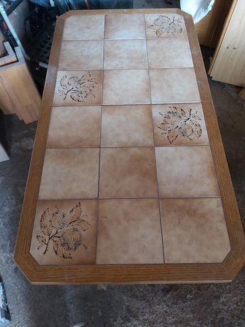 Masa lemn cu faianta extensibila