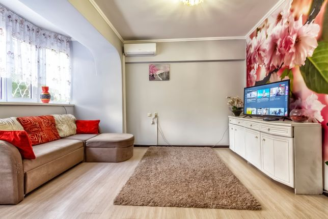 Чистая уютная квартира в центре. Самал-1. Посуточно