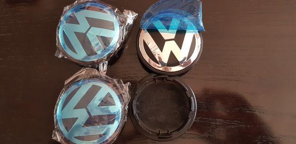 Комплект капачки за джанти 65мм за VW Фолксваген