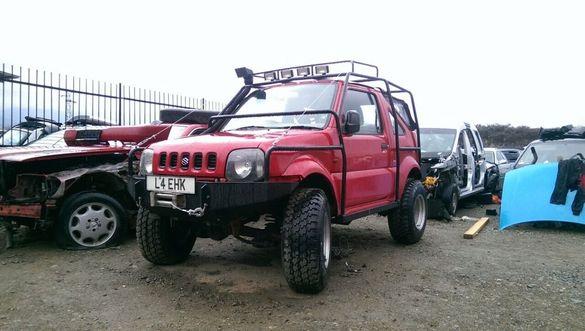 НА ЧАСТИ! Suzuki Jimny 1.3i 16V OFFROAD, Сузуки Джимни 1.3