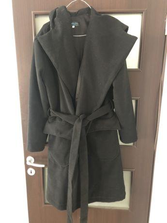 Vand palton negru XL,nou,dama,Funkers