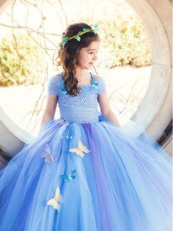 Rochita TUTU Printesa Cenusareasa Elsa Belle Sofia Rapunzel Alba ca za