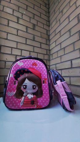 Школьная рюкзак с умкой для обуви